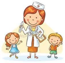 Spotkanie przedszkolaków z panią pielęgniarką
